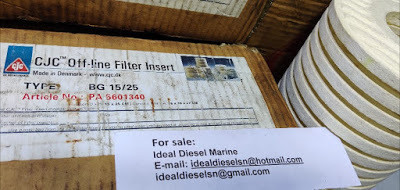 For sale: Original CJC BG 15/25 filter insert New 5pcs article no PA 5601340 CJC BG15/25 . worldwide