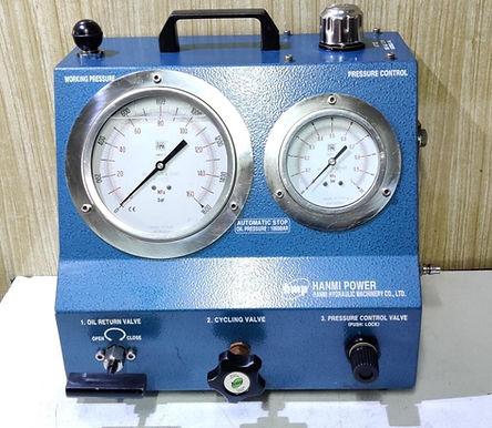 For Sale: AHP-1500 Hanmi hydraulic co Ltd Air Driven High pressure pump