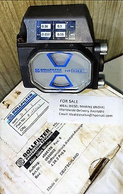 BOLL DPI 0550002 TYP 4.36.2 P=0.5 Differential pressure indicator for sale ideal diesel marine