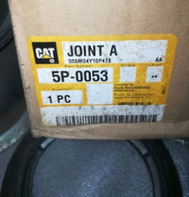 5P0053 CAT JOINT A 5P-0053 WE HAVE NEW 3SETS FULL KIT COMPLETE, CAT 5P0053 JOINT A ORIGINAL USA MAKE