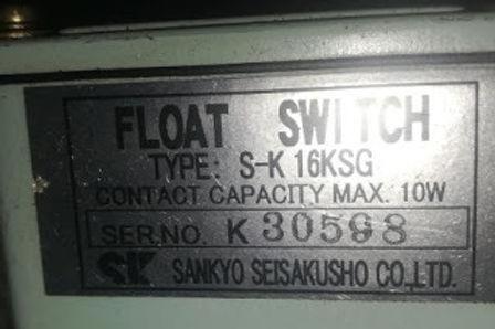 SK16KSG sankyo seisakusho co ltd float switch Type S-K 16KSG new 2pieces we have for sale worldwide