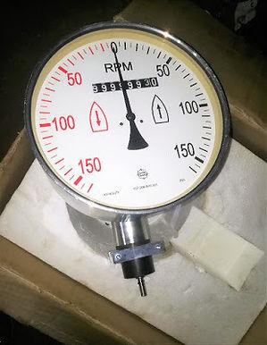Main Engine Sulzer TACHO METER Rhein Tacho 107.268.870.001 151452/2 TACHO METER RND SULZER RND RPM M