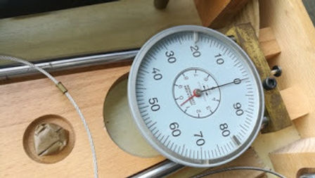 VIGGO A. KJAER CYLINDER GAUGE , MEASURING OF CYLINDER LINER Kai Petersen Maskinfabrik AS E-mail us: