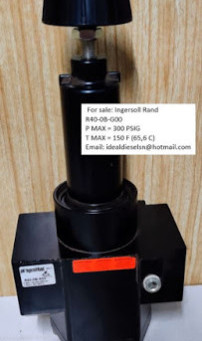 For sale: Ingersoll Rand R40-0B-G00 P MAX = 300 PSIG T MAX = 150 F (65,6 C) worldwide delivery avail