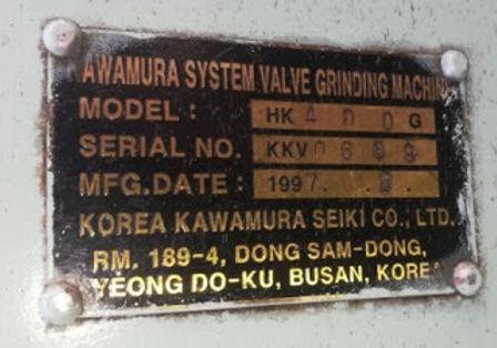 WE SELL ELECTRIC GRINDING MOTOR For Kawamura system valve grinding machine model –HK551G KORIA VALVE