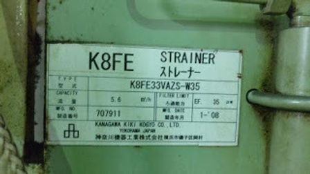 K8FE STRAINER FILTERS K8FE33VAZS-W35 kanagawa kiki kogyo co ltd WE SALE AND EXPORT WORLDWIDE,YOOWON