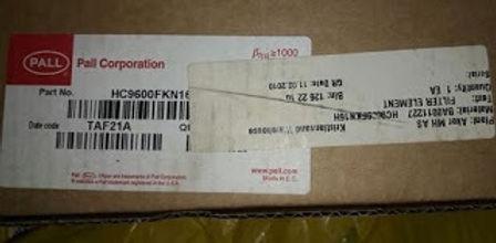 PALL FILTER ELEMENT PALL CORPORATION HC9600FKN1600H & FAIREY ARLON R960-H-1606A R960H1606A BETAM