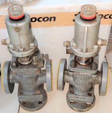 Burkert DN25 Pnuematic 3 way valve