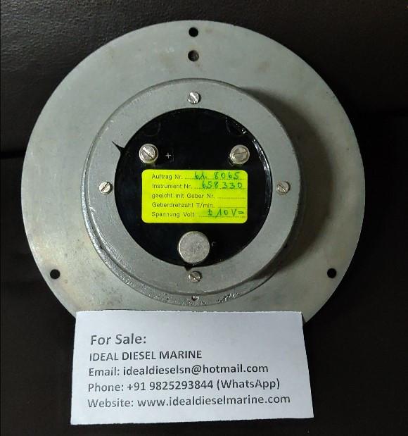 Hasler Ag Bern Rpm indicator (0-700) Sulzer 40/48 Ins. Nr. : 658330