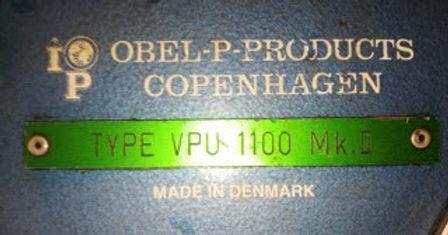 VPU1100MK2 IOP Marine Obel Products B&W Main engine Fuel valve tester VPU1100 MK2 we IDEAL DIESE