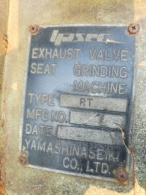 YamashinaSeiki co.ltd Exhaust valve seat grinder motor we sale and export world wide GL7 Hitachi Kok