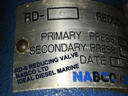 RD6 REDUCING VALVE NABCO LTD RD 6 for sale Primary Press 0.88MPa Secondary press 0.05-0.8MPa We expo