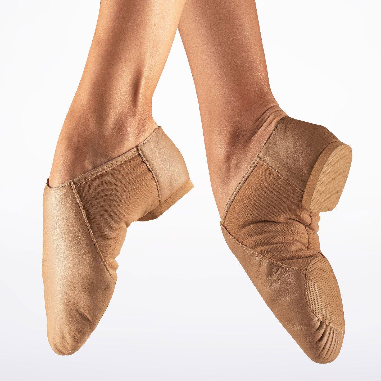 Tan Split Sole Jazz Shoe