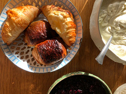 Croissants and pain chaucolat