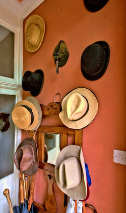 Part of our hat collection