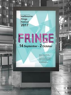 Melbourne Fringe Festival Poster