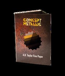 Concept Metallic Paper Sampler