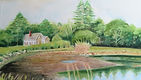 House on Clark Island_watercolour_21x27_