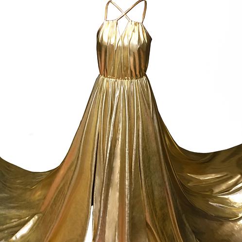 34. Liquid gold dress