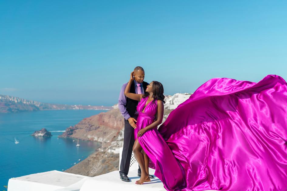 maxi dresses for engagement photos