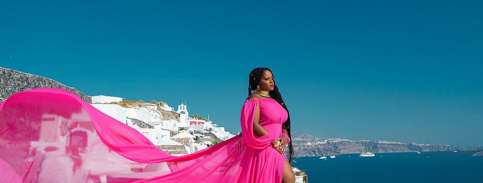 19. Pink dress