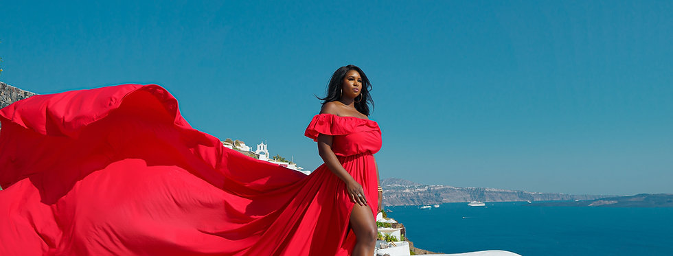 36. Red dress plus size
