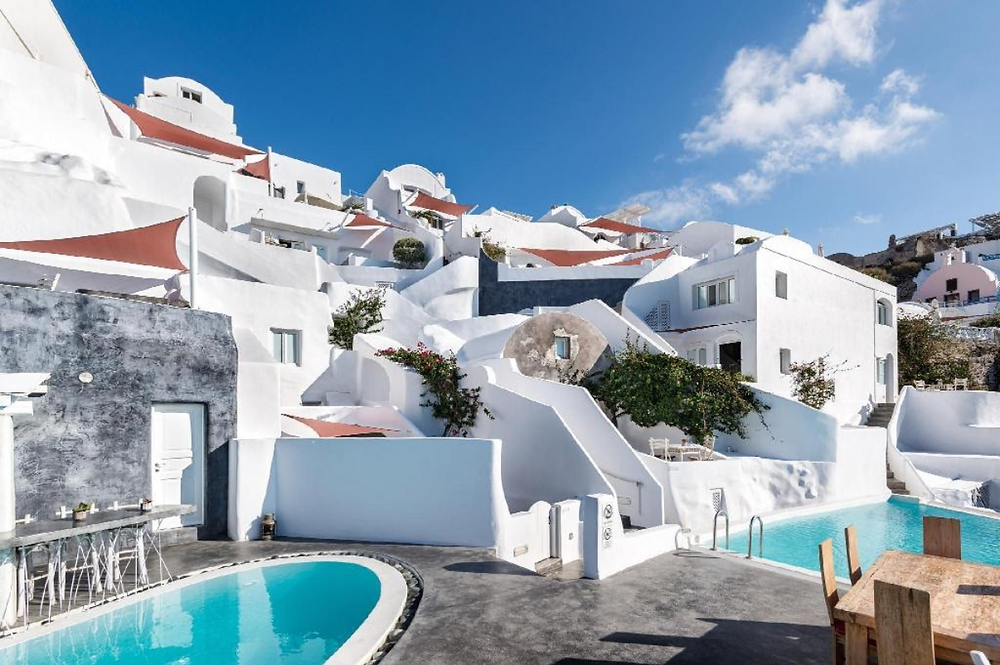 Andronis boutique hotel in Santorini