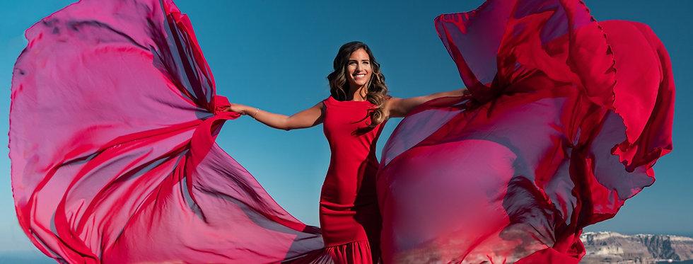39. Red dress