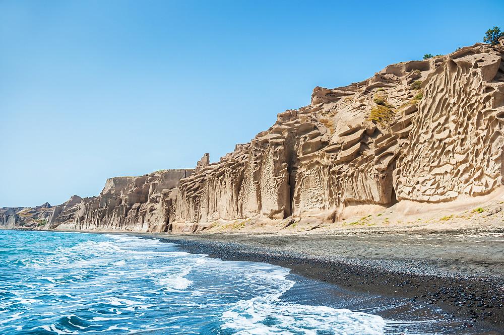Santorini Vlychada Beach