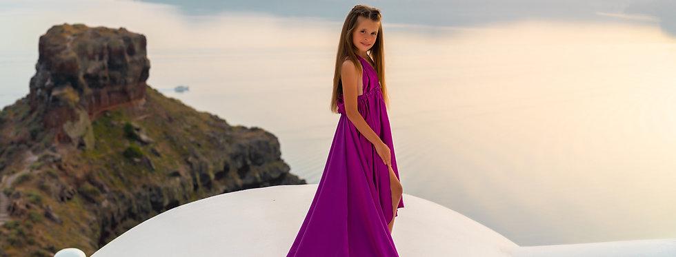 58. Fuchsia kid dress