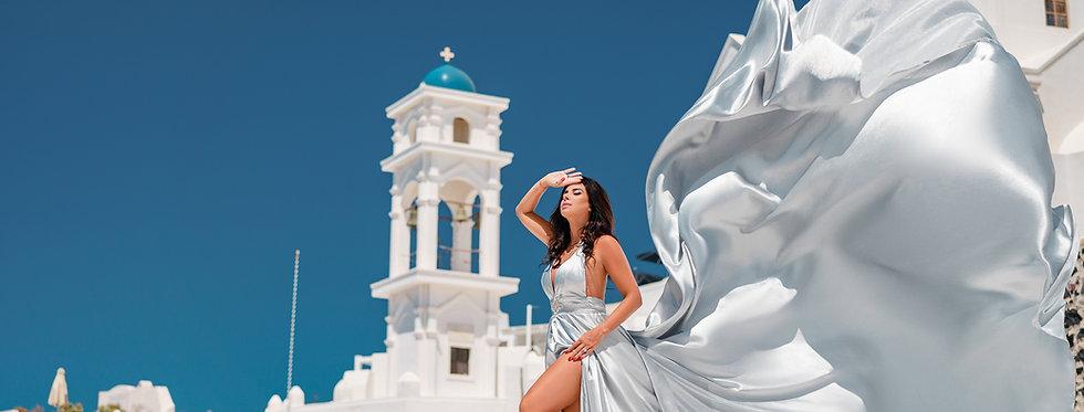 silver dress womens