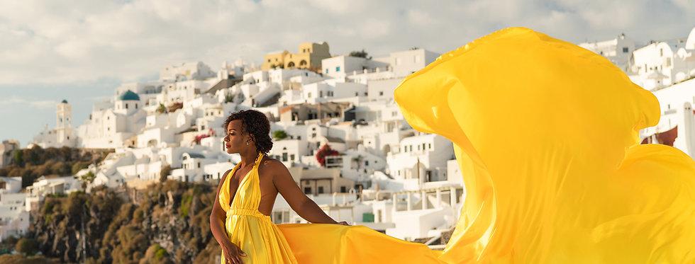 yellow dress maxi