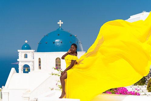 23. Yellow dress