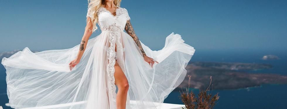 33. White boudoir dress
