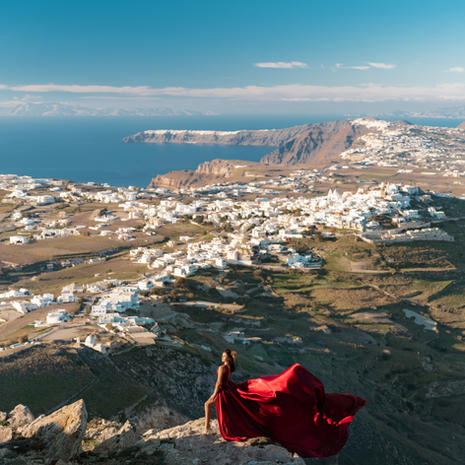 View point near Pyrgos