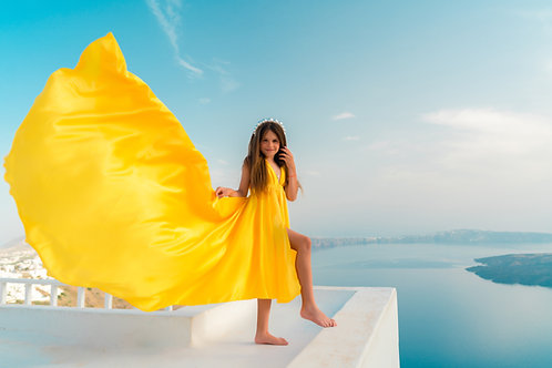 51. Yellow dress for kids