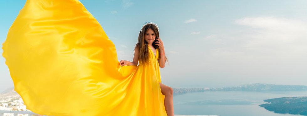 59. Yellow kid dress
