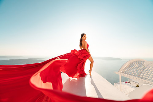 1. Red Dress