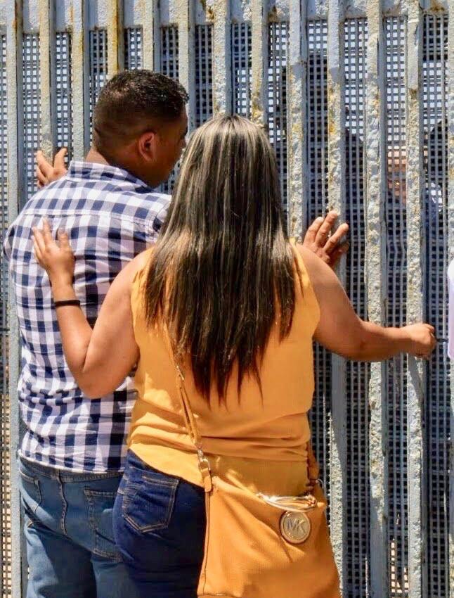 A visit through the border wall