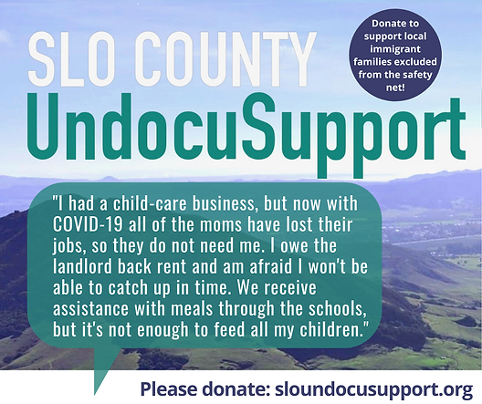 Immigrant Story #1 SLO County UndocuSupp