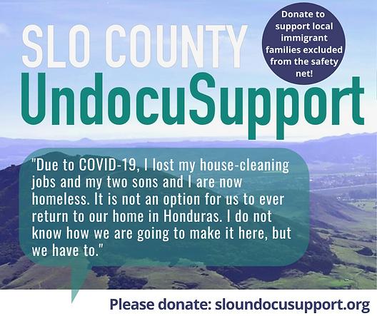 Immigrant story #2 SLO County UndocuSupp
