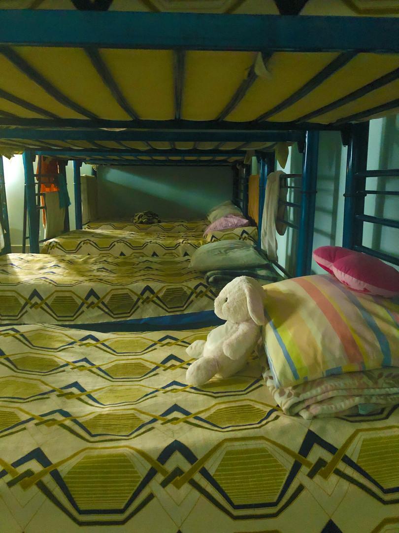 Dormitory at Madre Assunta