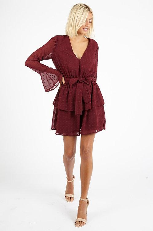 Rusty Red Dream Kleid