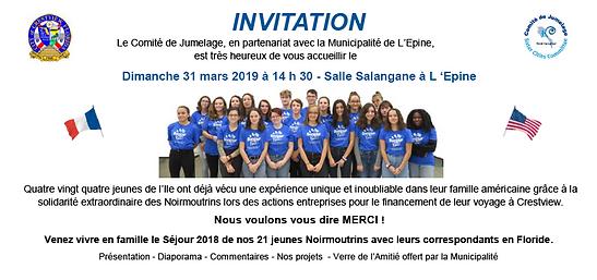 31 mars 2019 Invitation Diaporama 2018.P