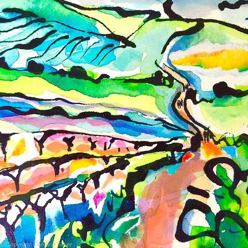 El Camino - Navigating By Joy (Small Print)