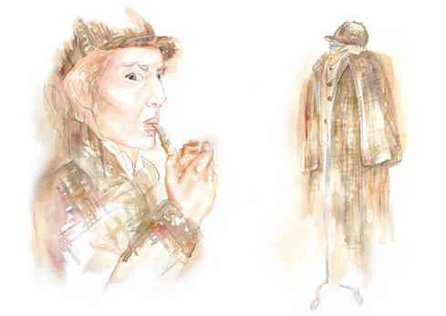 Sherlock Holmes, Vorlage