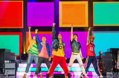 "Musicalshow: Boybands forever"""