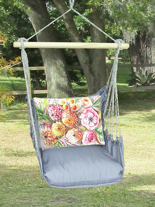 Painterly Flowers Swing Set, GRLS902-SP