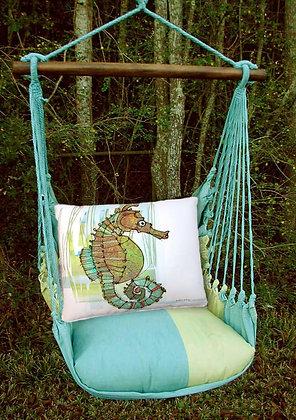 MM Swing Set w/ Seahorse Pillow, MMRRSIM-SP