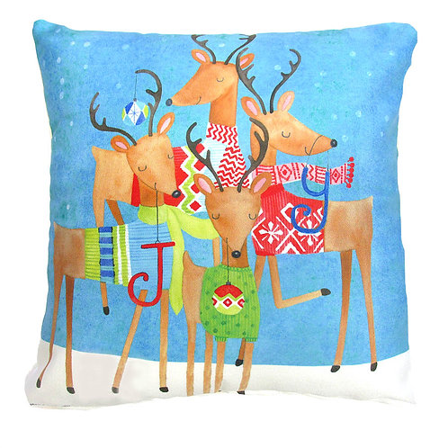 Jolly Reindeer, BC606LCS, 18x18
